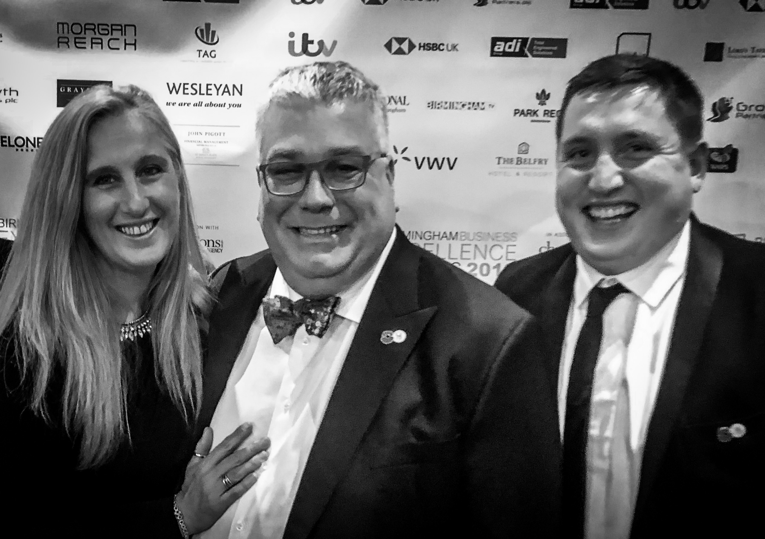 Jonathan and Jo-Anne Till at the Business Excellence Awards
