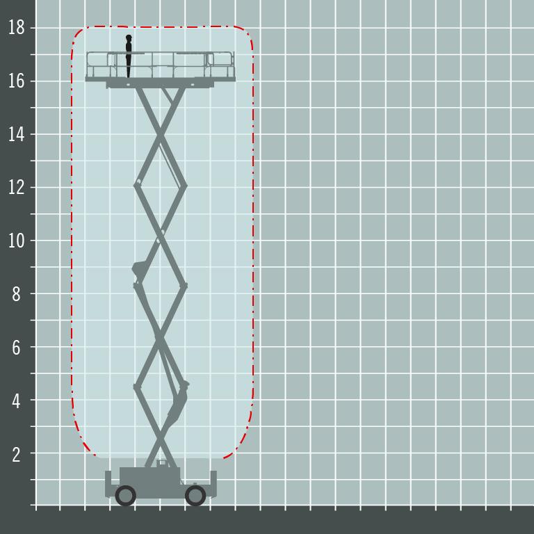 Haulotte HS18E Pro diagram