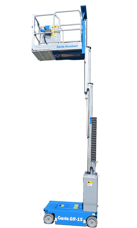 Genie GR15 Runabout machine image